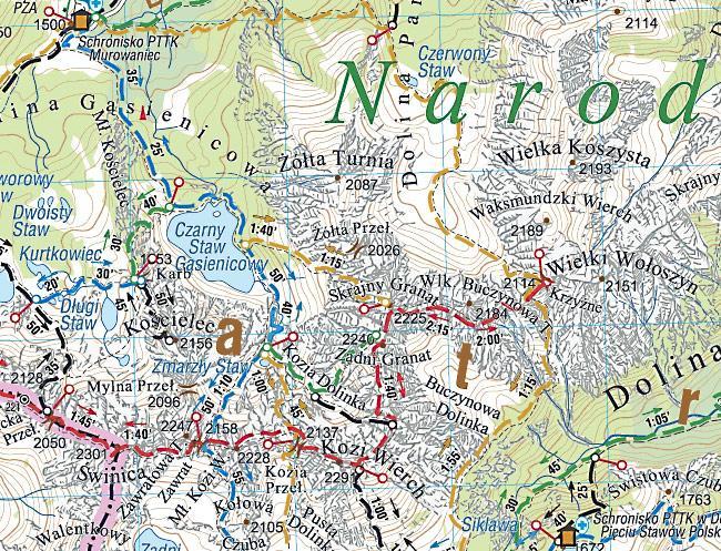 Podhale Tatry Orawa Spisz Mapa Turystyczna Compass Podhalanka Pl