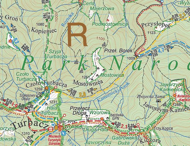 Gorce Mapa Turystyczna Compass Podhalanka Pl