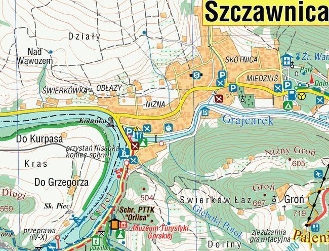 Pieniny Mapa Turystyczna Compass Podhalanka Pl