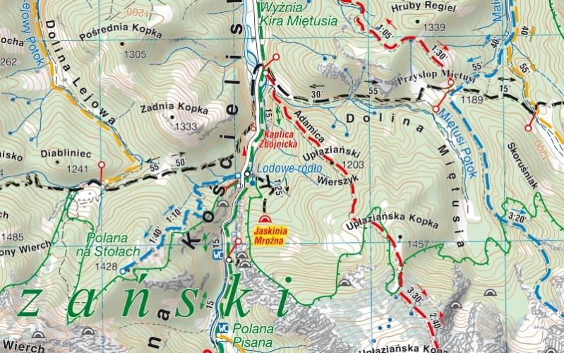 Tatry Polskie I Slowackie Mapa Turystyczna Compass Podhalanka Pl
