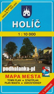 Holíč, Holitsch, Holics, plan miasta