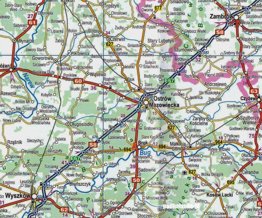 Polska Mapa Samochodowa Wydanie 2020 Compass Podhalanka Pl